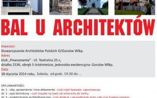 I Bal u Architektów